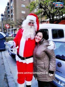 La visita de Papá Noel en Mallorca