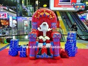 Contratar la visita de Papá Noel a domicilio en Mallorca
