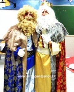 Contrata la visita de Reyes Magos en Madrid
