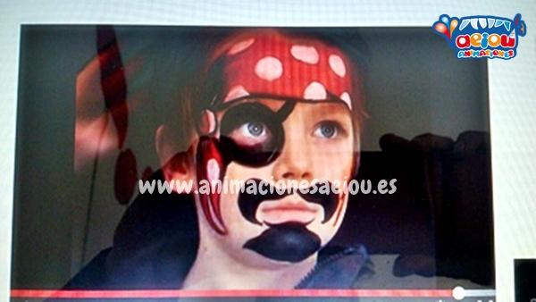 Juegos para Fiestas temáticas de piratas en Mallorca
