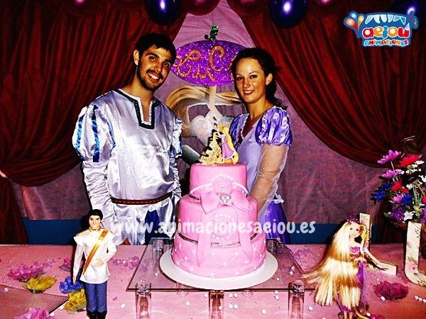 Fiestas de cumpleaños infantiles temáticas de princesas en Mallorca