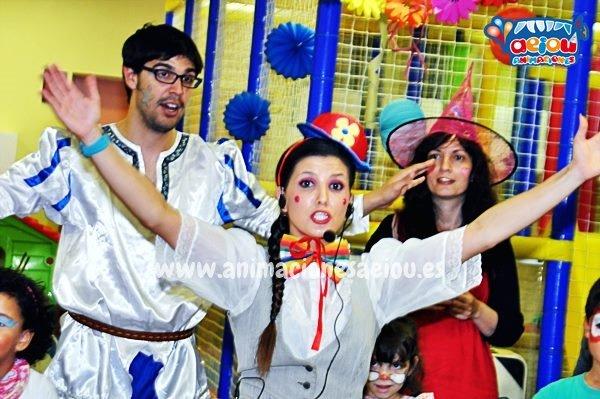 Excelentes animadores para fiestas infantiles en Lluchmayor