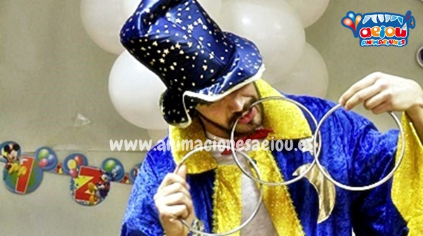 Magos para Fiestas Infantiles en Marrachí