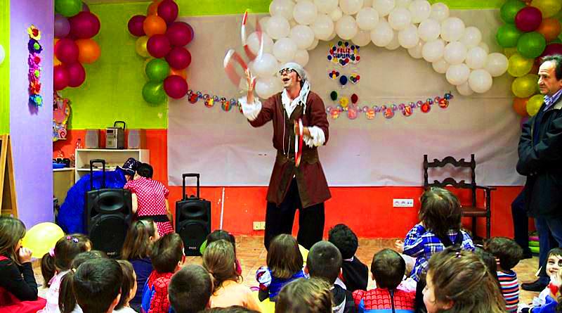 Animación de fiestas de cumpleaños infantiles en Inca