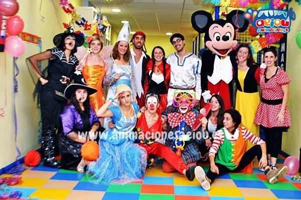 Animaciones para fiestas de cumpleaños infantiles y comuniones en Baleares